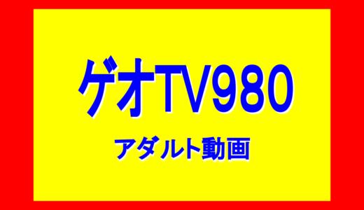 ゲオTV980 アダルト